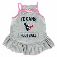 Houston Texans NFL Gray Dog Dress