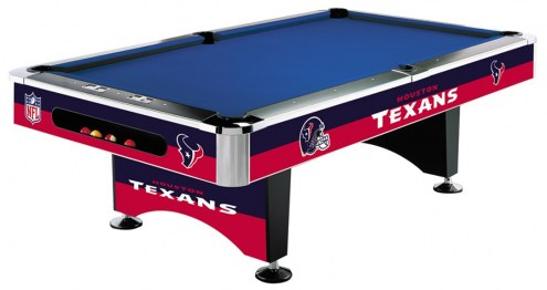 Houston Texans NFL Pool Table
