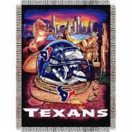 Houston Texans NFL Woven Tapestry Throw