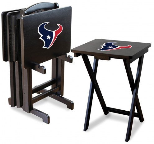 Houston Texans NFL TV Trays - Set of 4