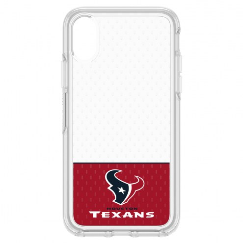 Houston Texans OtterBox iPhone X Symmetry Clear Case