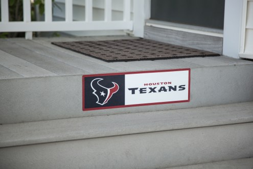 Houston Texans Outdoor Step Graphic