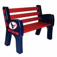 Houston Texans Park Bench