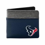 Houston Texans Pebble Bi-Fold Wallet