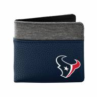 Houston Texans Pebble Bi-Fold Wallet