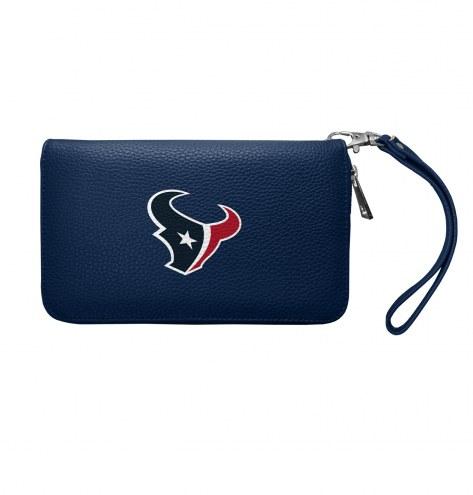 Houston Texans Pebble Organizer Wallet