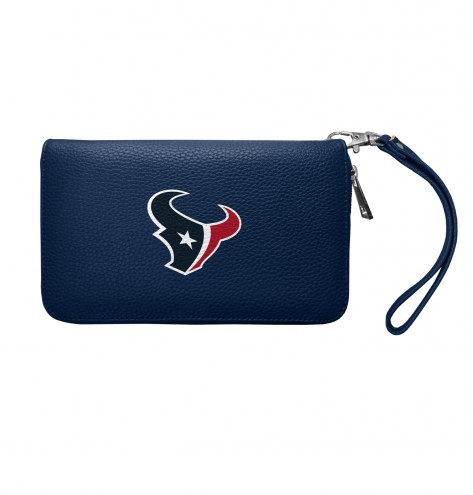 Houston Texans Pebble Organizer Wallet