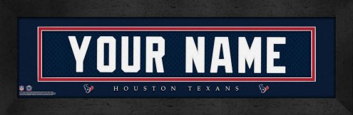 Houston Texans Personalized Stitched Jersey Print