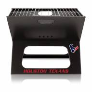 Houston Texans Portable Charcoal X-Grill