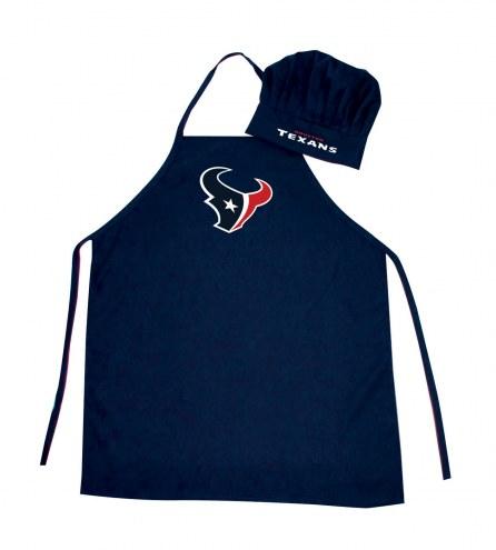 Houston Texans Apron & Chef Hat