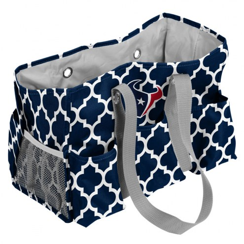 Houston Texans Quatrefoil Weekend Bag