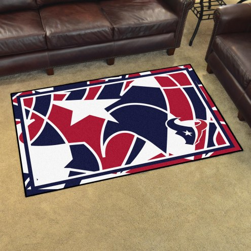 Houston Texans Quicksnap 4' x 6' Area Rug