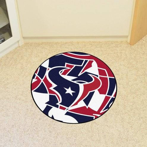 Houston Texans Quicksnap Rounded Mat