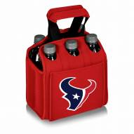 Houston Texans Red Six Pack Cooler Tote