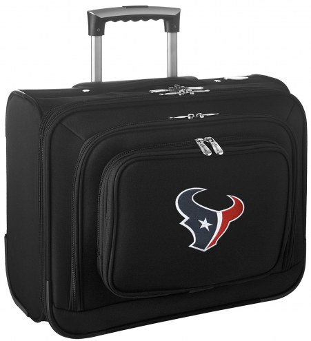 Houston Texans Rolling Laptop Overnighter Bag