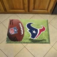 Houston Texans Scraper Door Mat