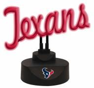 Houston Texans Script Neon Desk Lamp