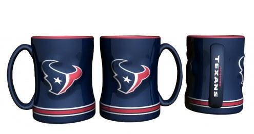 Houston Texans Sculpted Relief Coffee Mug