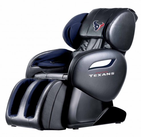 Houston Texans Shiatsu Zero Gravity Massage Chair