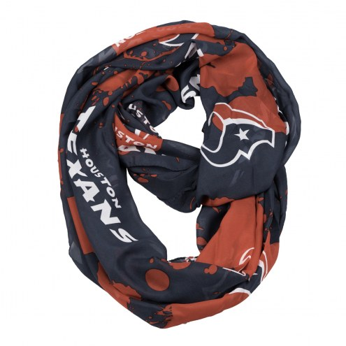 Houston Texans Silky Infinity Scarf