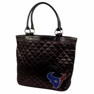 Houston Texans Sport Noir Quilted Tote