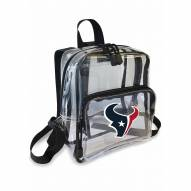 Houston Texans Stadium Friendly Clear Mini Backpack