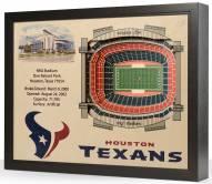 Houston Texans 25-Layer StadiumViews 3D Wall Art