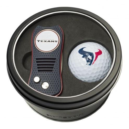Houston Texans Switchfix Golf Divot Tool & Ball