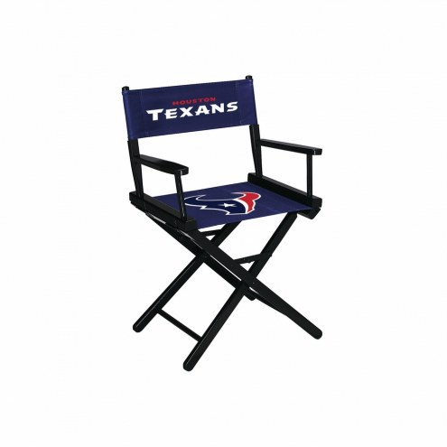 Houston Texans Table Height Director's Chair