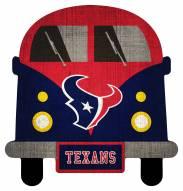 Houston Texans Team Bus Sign