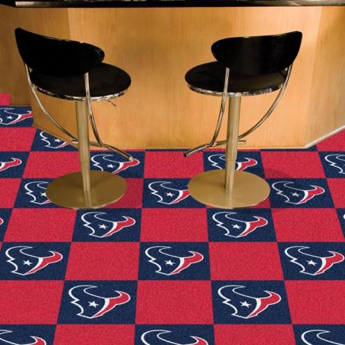 Houston Texans Team Carpet Tiles