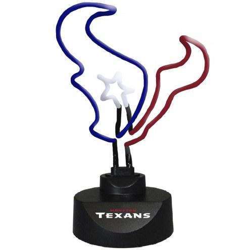 Houston Texans Team Logo Neon Lamp
