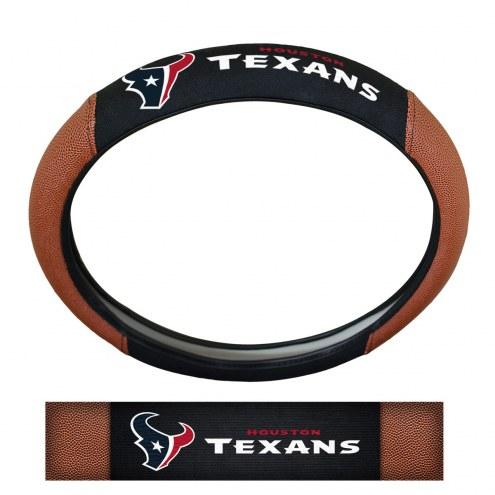 Houston Texans Steering Wheel Cover