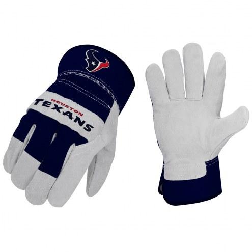 Houston Texans The Closer Work Gloves