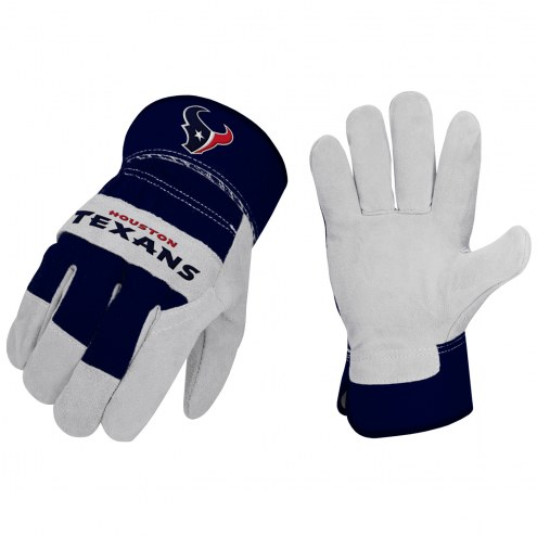 Houston Texans The Closer Work Gloves
