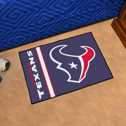 Houston Texans Uniform Inspired Starter Rug
