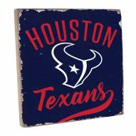 Houston Texans Vintage Square Wall Sign