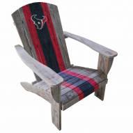 Houston Texans Wooden Adirondack Chair