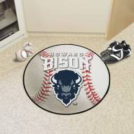 Howard Bison Baseball Rug