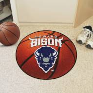 Howard Bison Basketball Mat