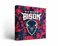 Howard Bison Fight Song Canvas Wall Art