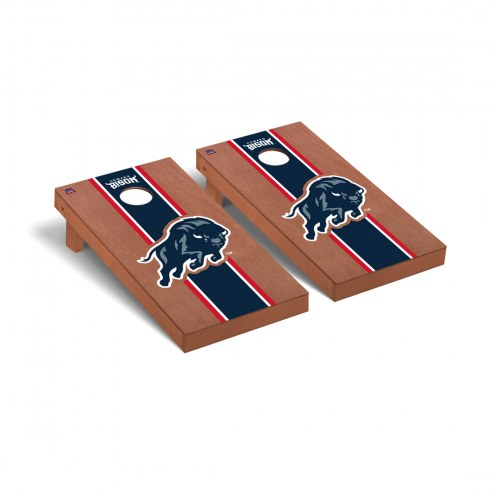 Howard Bison Rosewood Stained Cornhole Game Set