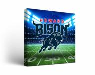Howard Bison Stadium Canvas Wall Art