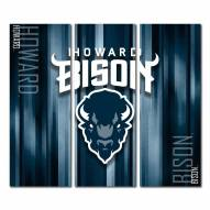 Howard Bison Triptych Rush Canvas Wall Art