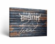 Howard Bison Weathered Canvas Wall Art