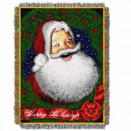 Howdy Santa Throw Blanket