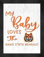Idaho State Bengals My Baby Loves Framed Print