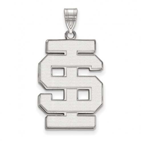 Idaho State Bengals Sterling Silver Extra Large Pendant