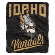 Idaho Vandals Alumni Raschel Throw Blanket