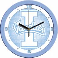 Idaho Vandals Baby Blue Wall Clock